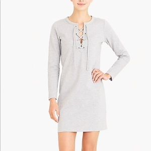 J.Crew Lace-Up Dress